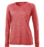 Ladies Electrify 2.0 Shirt V-Neck Long Sleeve