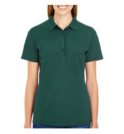 Custom Hanes Womens X-Temp Pique Sport Shirt