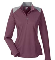 Ladies Command Colorblock Quarter-Zip