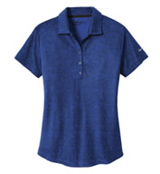 Custom Nike Golf Ladies Dri-FIT Crosshatch Polo