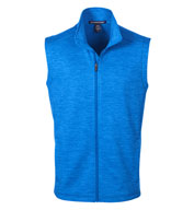 Mens Newbury Colorblock Mélange Fleece Vest