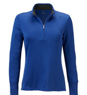 Custom Brooks Brothers Womens Performance Half-Zip Pullover