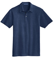 Custom Mens Meridian Cotton Blend Polo