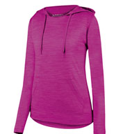 Ladies Shadow Tonal Heather Hoodie