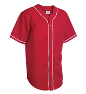Custom Adult 6-Button Baseball Jersey with Sewn-On Braid