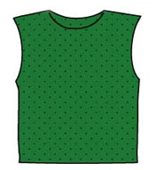 Russell Athletic Adult Scrimmage Vest, Wide Shoulder