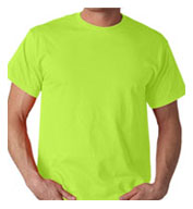 Custom ANSI/ISEA Rated Safety Net T-Shirt Mens