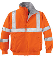 Safety Challenger Jacket With Reflective Taping