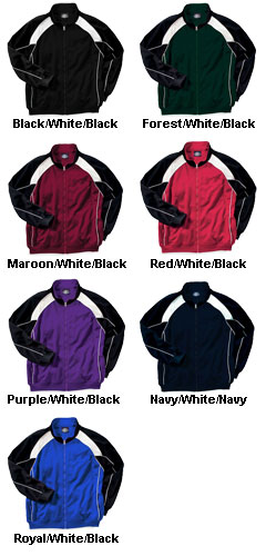 Mens Olympian Team Jacket by Charles River Apparel - All Colors