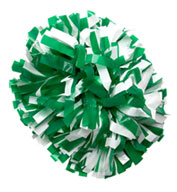 Custom Cheer Pom Poms in School Colors