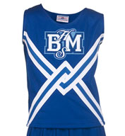Custom Womens Deluxe Crossover Cheer Shell