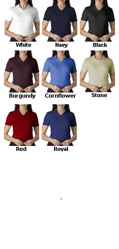 Luxurious Egyptian Cotton V-Neck Ladies Shirt - All Colors