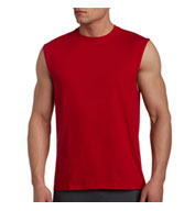 Custom Russell Mens Cotton Muscle T
