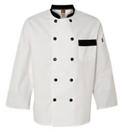 Chef Designs Garnish Chef Coat