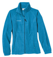 Custom Womens Columbia Benton Springs Fleece Full Zip Jacket