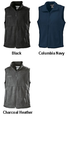 Ladies Columbia Fern Creek Fleece Vest - All Colors