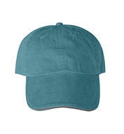 Custom Solid Pigment-Dyed Twill Sandwich Cap