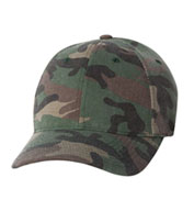 Custom Flex Fit, Low Profile Camouflage Cap