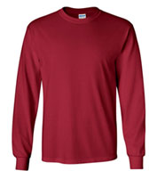 100% Heavyweight Ultra Cotton Long Sleeve T-Shirt