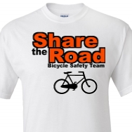 Custom Bicycle Safety T Shirt Designs And Custom Bicycle