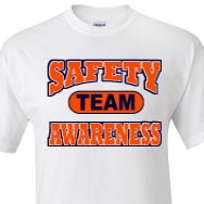 custom safety awareness t shirt designs and custom safety